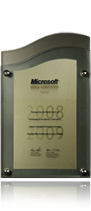 Microsoft Gold Certified Partner (2008/2009)